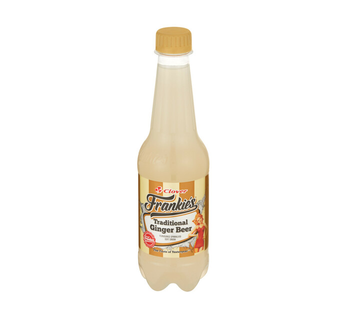 Frankies Carbonated Soft Drink Ginger Beer (6 x 400ml)
