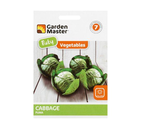Gardenmaster Baby Vegetables Cabbage---Puma