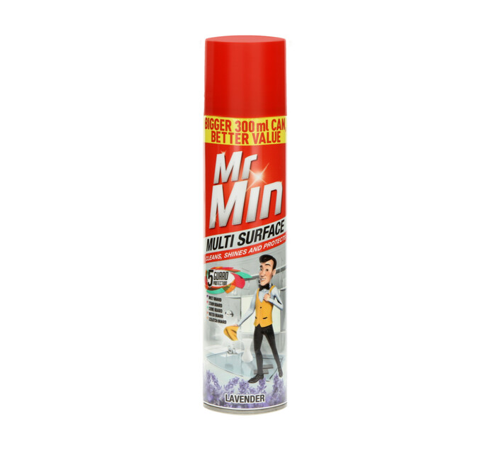 Mr Min Multi-Surface Polish Lavender (1 x 300ml)