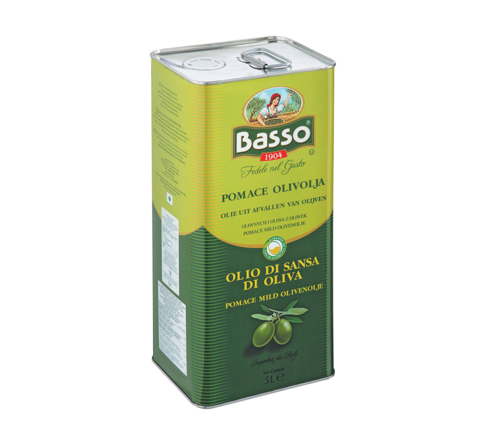 BASSO Extra Virgin Olive Oil (1 x 5L)