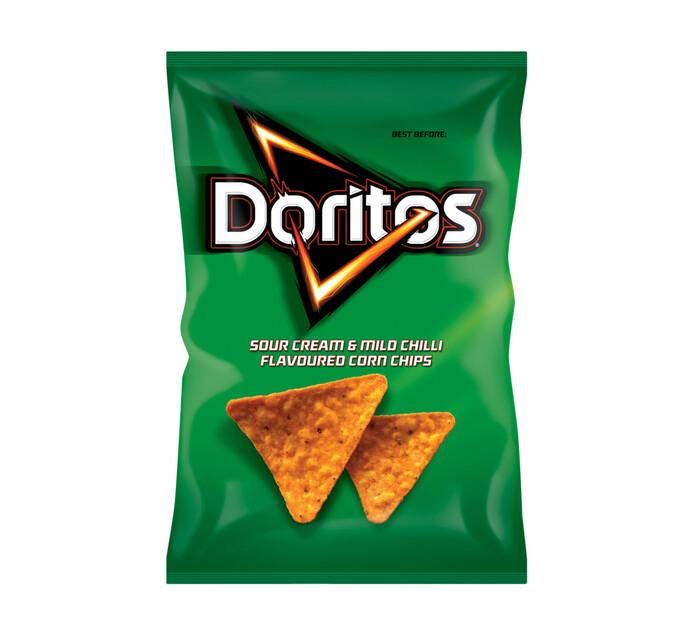 Simba Doritos Corn Chips Sour Cream & Mild Chilli (1 x 45g)