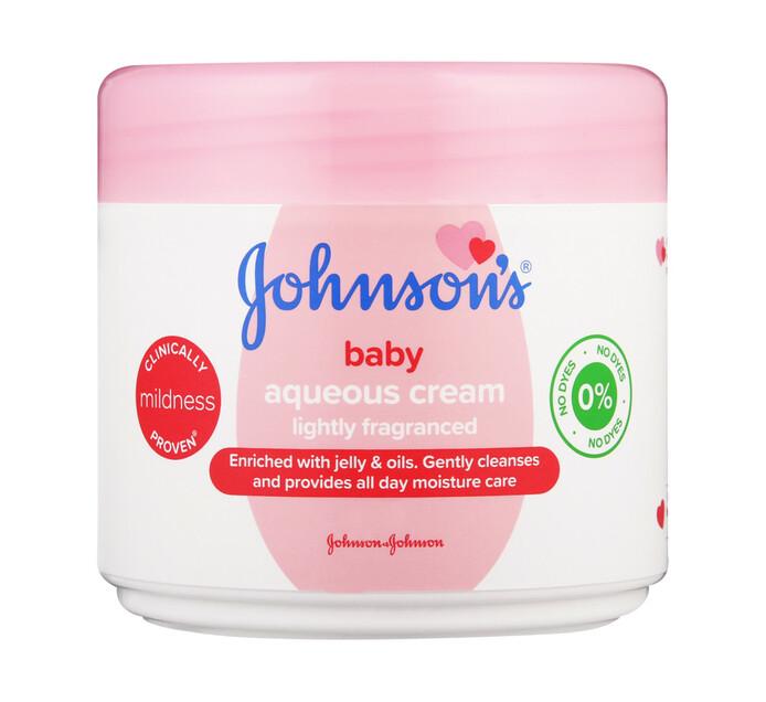 Johnsons Baby Aqueous Cream Light (6 X 350ml)