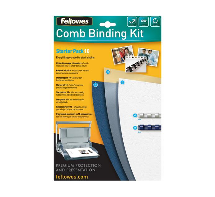 Fellowes 10 Pack Binding Starter