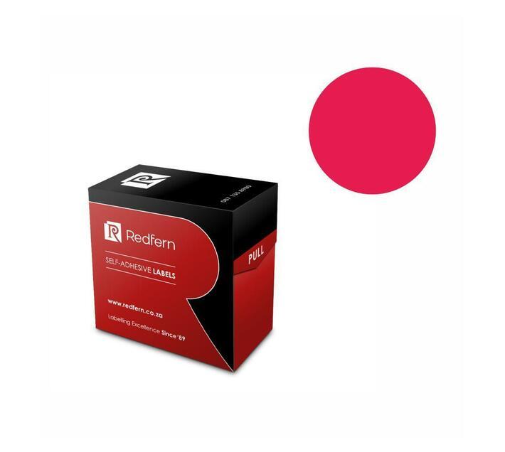 Redfern Self-Adhesive Colour Codes - C25 Flu Pink