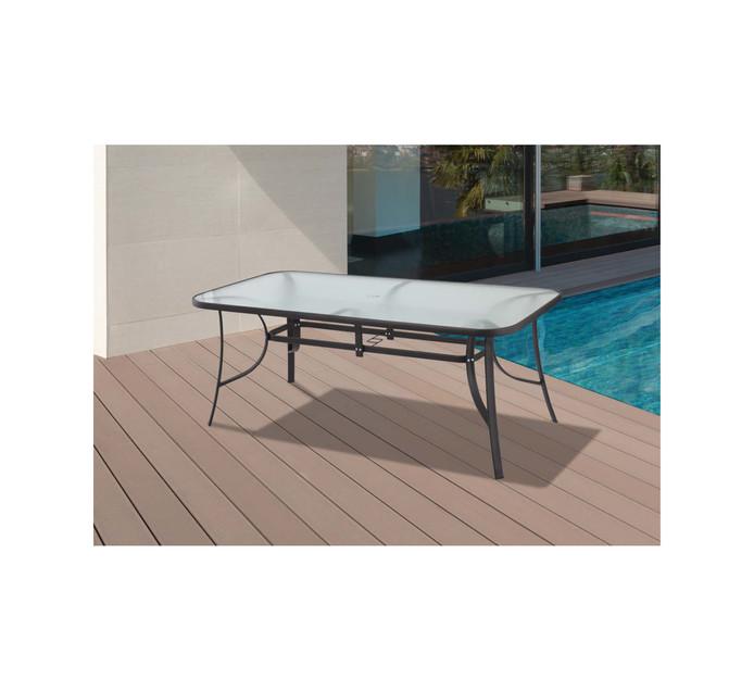 Terrace Leisure 180 x 96 cm Manor 6-Seater Rectangular Table