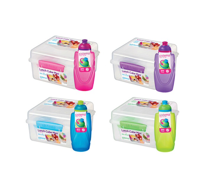 Sistema Lunch Cube Maxi with Bonus Bottle