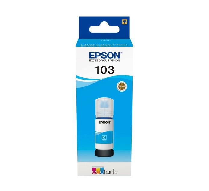 Epson 103 EcoTank Cyan Ink