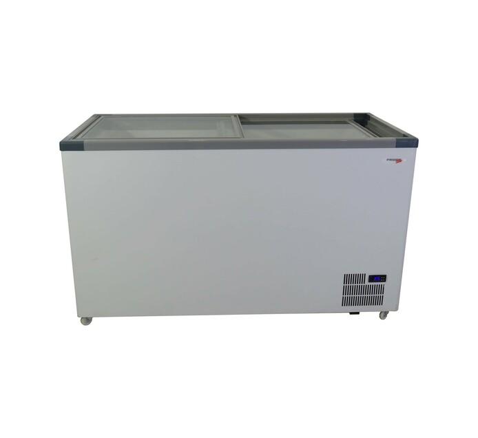 Fridgestar 520 l Commercial Glass Top Chest Freezer