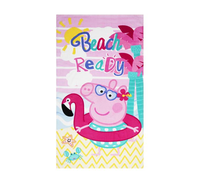 Character 70 x 130 cm Beach Towel Peppa pig