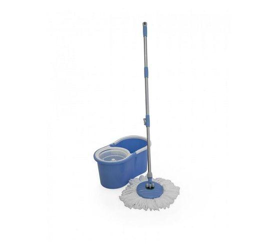 Fine Living-Spin Mop - Figure 8 - Blue,with plasti