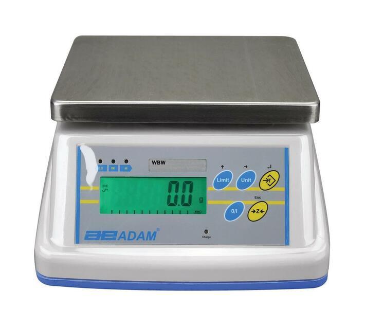 4kg x 0.5g Washdown scales IP65