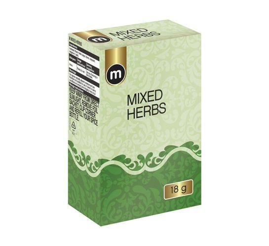 M Brand Refill Seasoning Mixed Herbs (1 x 18g)