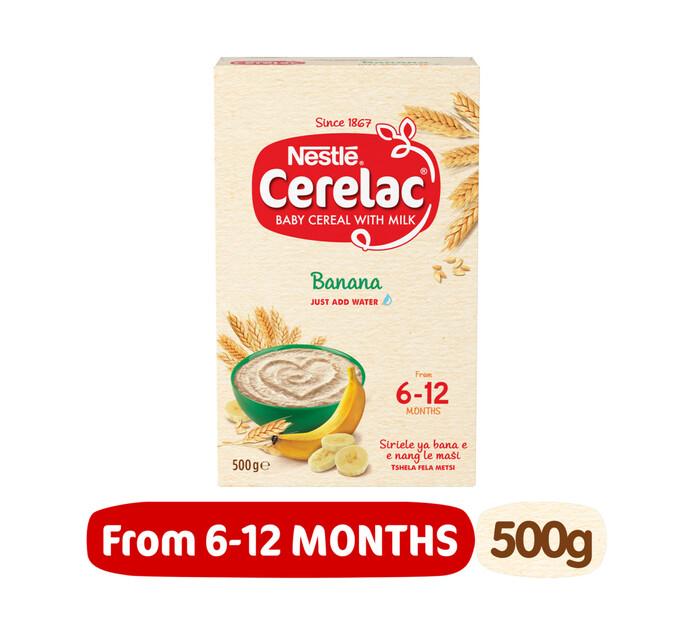 Nestle Cerelac Stage 1 Banana (1 x 500g)