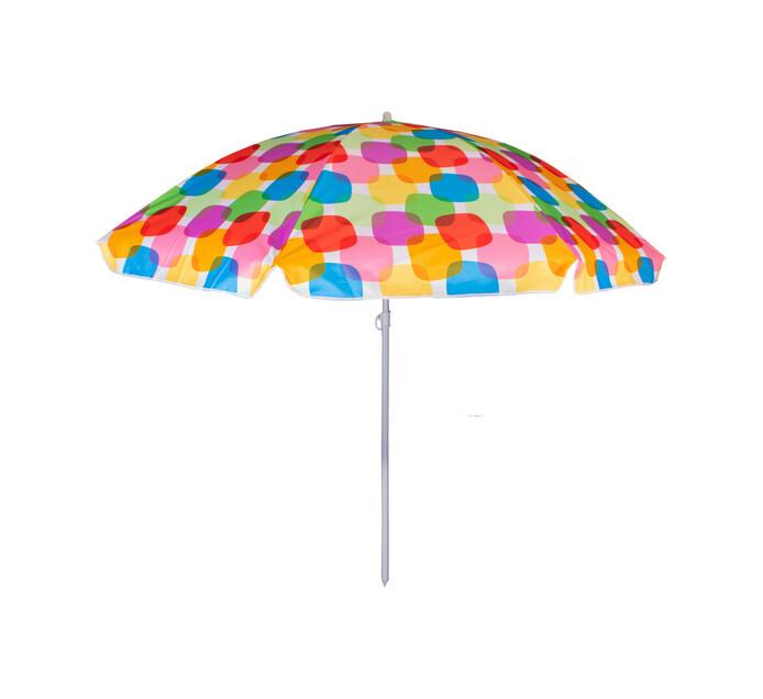 Republic Umbrella 204 cm Bright Stripe Beach Umbrella