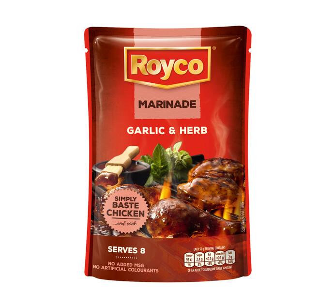 Royco Wet Marinade Garlic and Herb (8 x 400g)