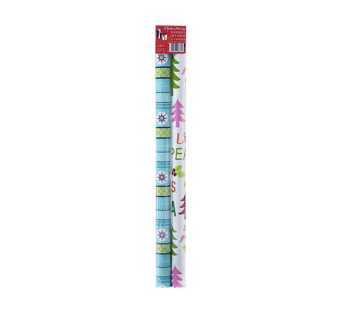 Creative 3 m x 70 cm Reversible Wrap 2-Pack