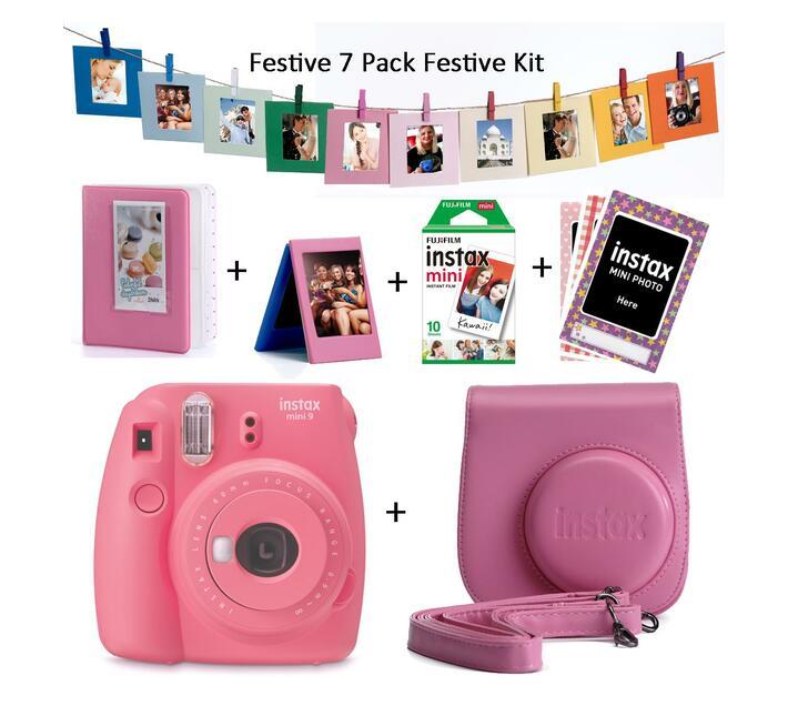 Instax Mini 9 Value Pack + 1 film Flamingo Pink