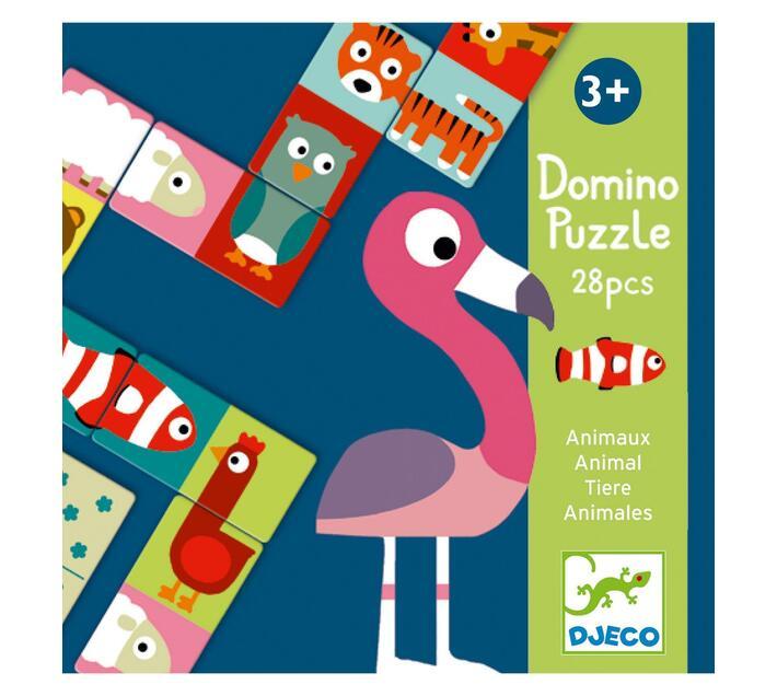 Djeco Matching Game: Domino Animals