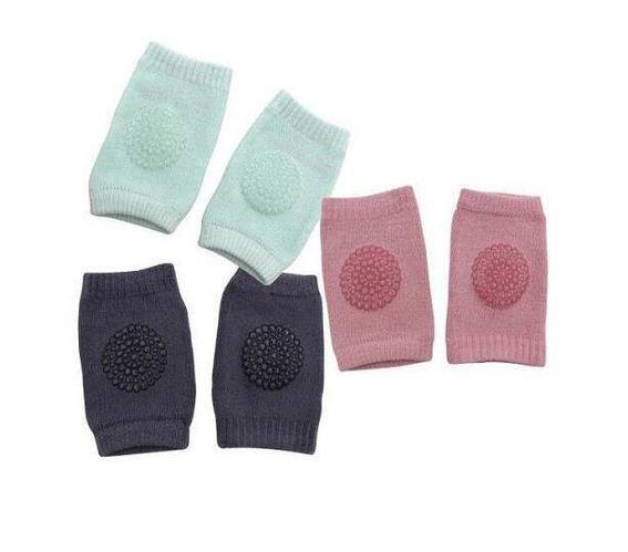 Totland Set of 3 Baby Girl Knee Pads