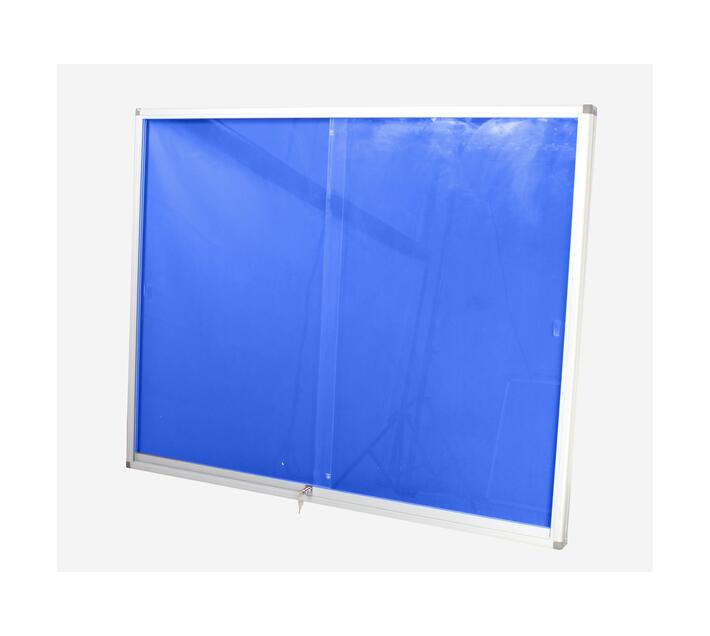 PARROT PRODUCTS Pinning Display Case (1200*900mm, Royal Blue)