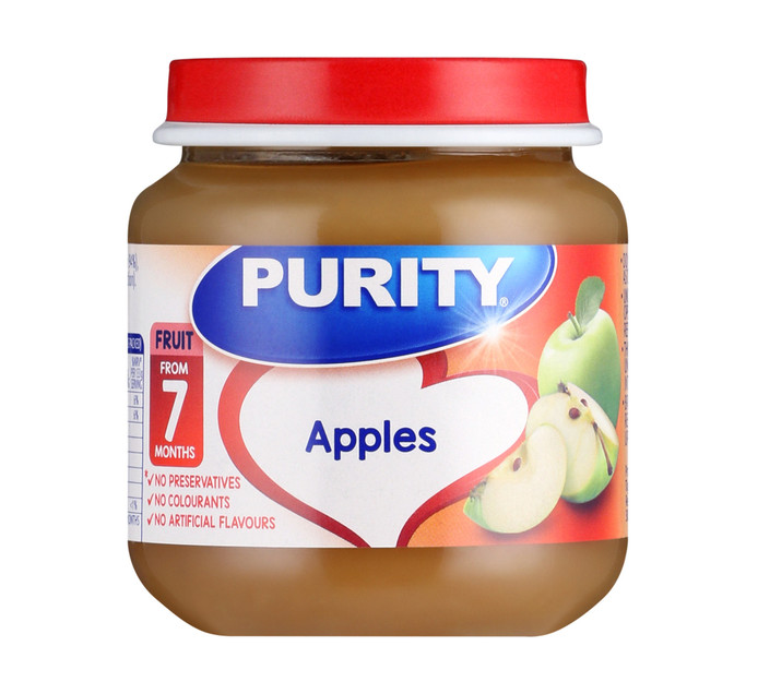 Purity 2nd Foods Apples (6 x 125ML)