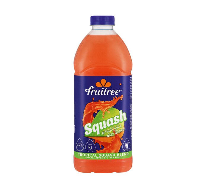 Fruitree Squash Tropical Punch (6 x 1.75lt)