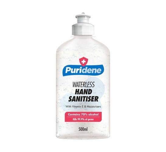 Puridene Hand Sanitiser Waterless (1 x 500ml)