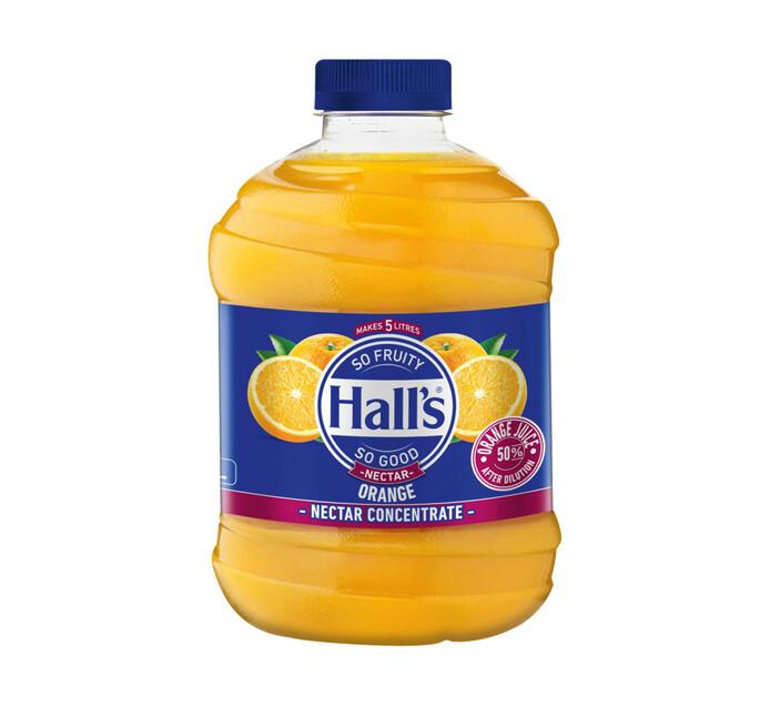Halls Fruit Juice Orange (1 x 1L)