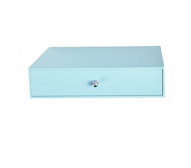 Single drawer -light blue