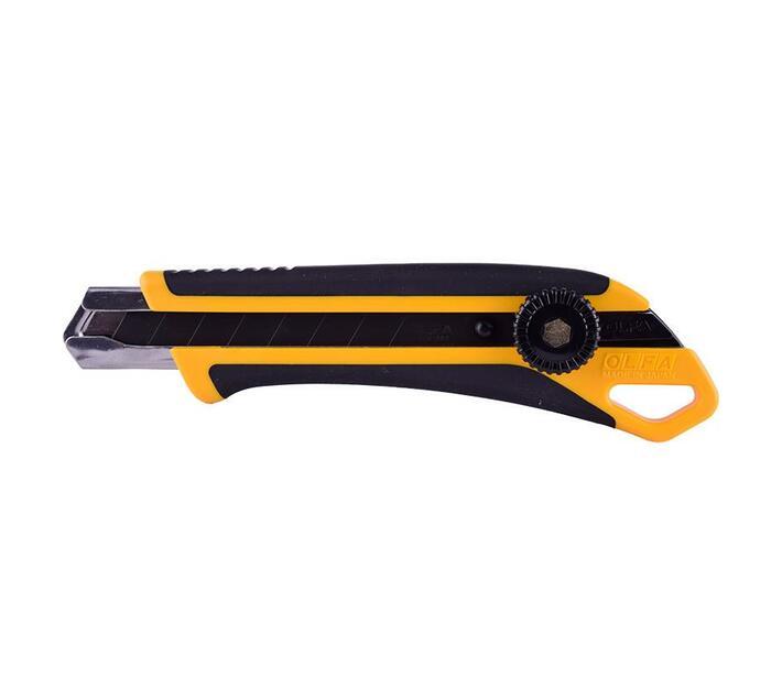 Olfa 18mm Heavy Duty Wheel Lock Cutter With X5 Free Lbb Blades