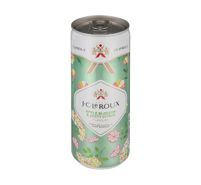 Jc Le Roux Apple Blossom & Zesty Citrus Cans (6 x 250 ml)
