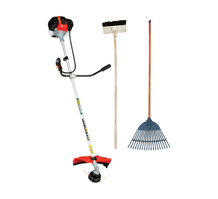 Trimtech 43 cc Petrol Brush Cutter Bundle