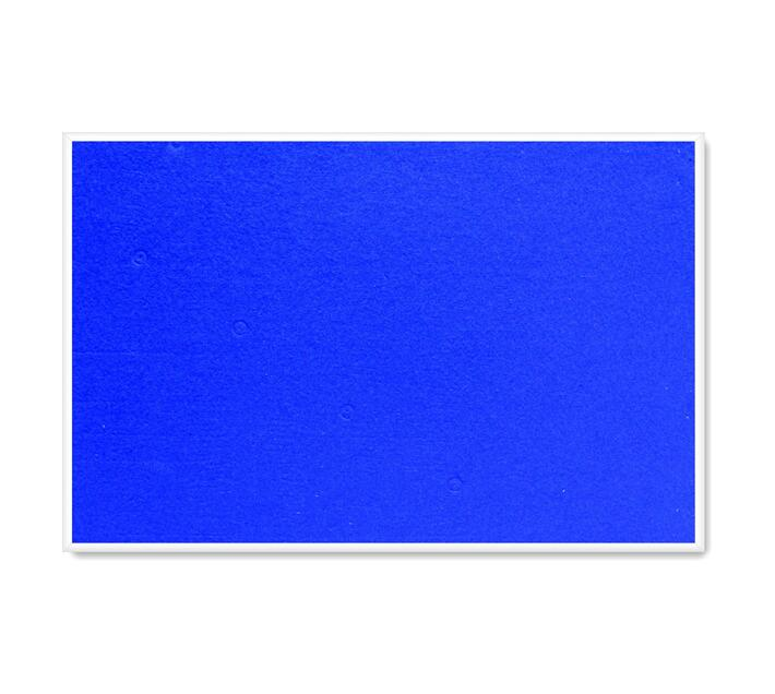 PARROT PRODUCTS Info Board (Plastic Frame, 600*450mm, Royal Blue)