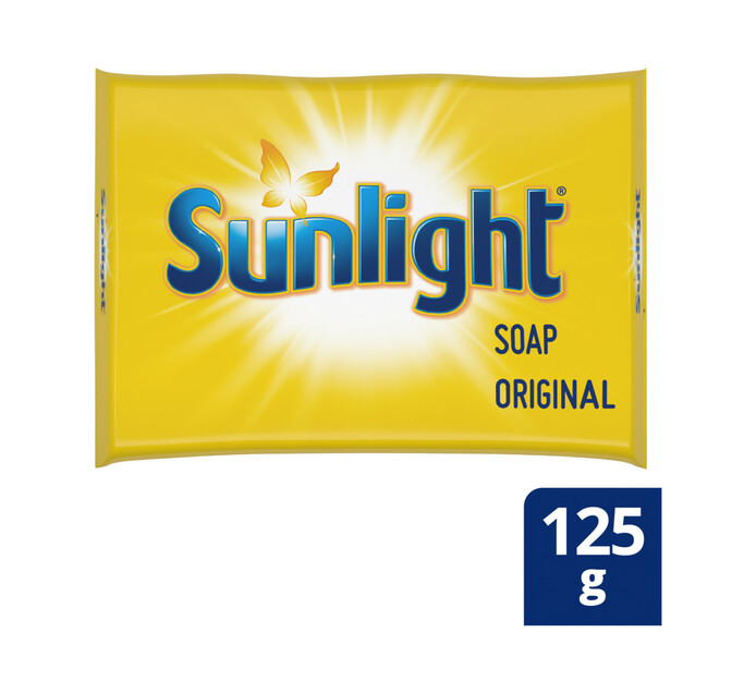 Sunlight Laundry Bar Soap (144 x 125g)