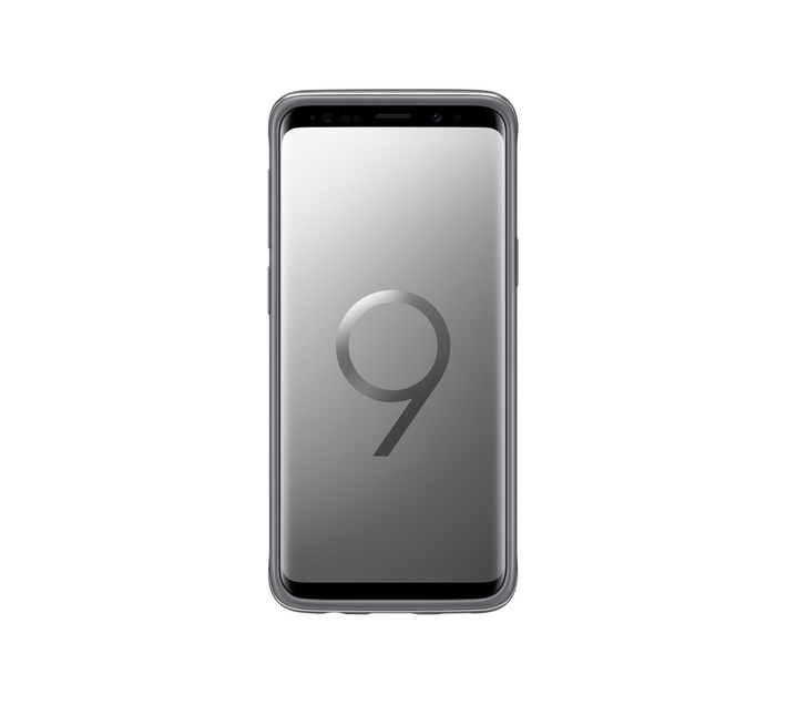 SAMSUNG GALAXY S9 PROTECTIVE STANDING COVER SILVER
