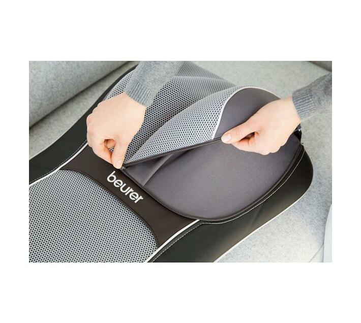 Beurer HD 3D Shiatsu Massage Seat Cover MG 295 Black