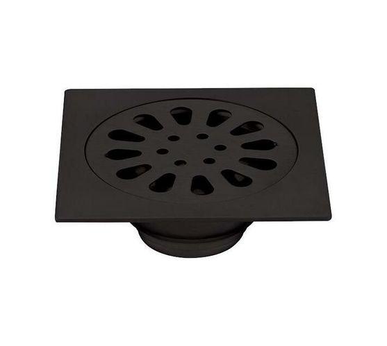 CHROMECATER Shower Waste Matt Black