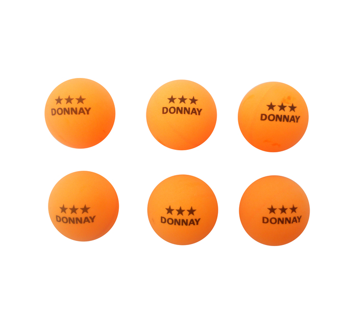 Donnay 3-Star Table Tennis Balls 6-Pack