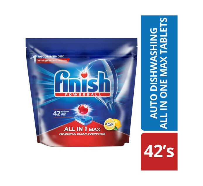 Finish All in One Tablets Lemon (1 x 42's)