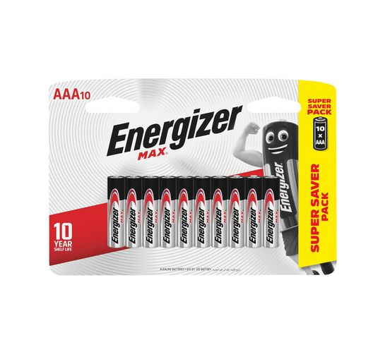 Energizer Max AAA 10-Pack