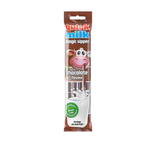 Quickmilk Flavoured Milk Straw Chocolate (30 g)