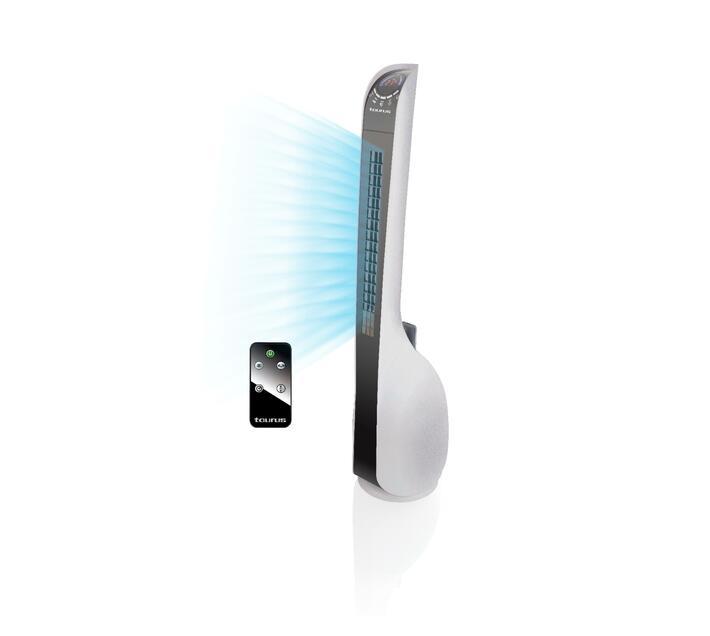 Fan Bladeless Plastic White 35in 45W `Ventilador AMB Estil`