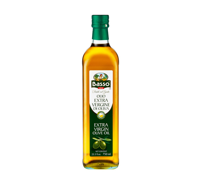 BASSO Extra Virgin Olive Oil (1 x 750ml)
