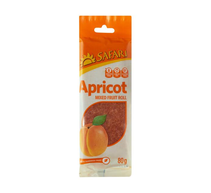 Safari Fruit Roll Apricot (1 x 80g)