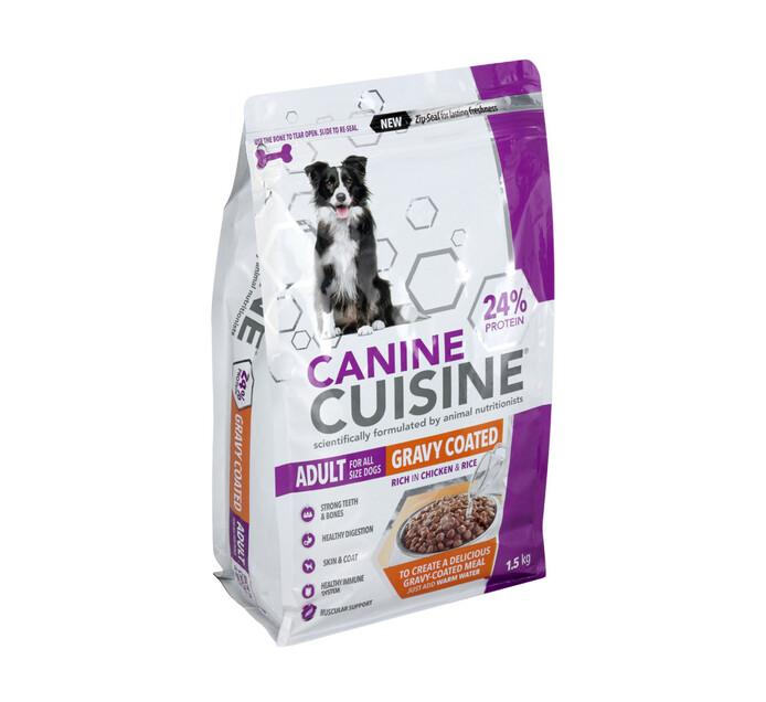 Canine Cuisine Gravy Coated Dry Dog Food (1 x 1.5kg)
