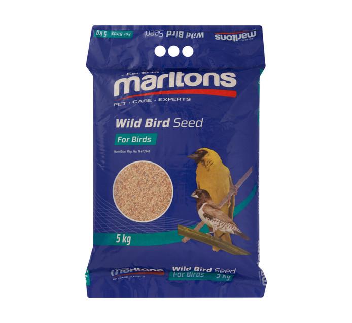MARLTONS WILD BIRD SEED 5KG