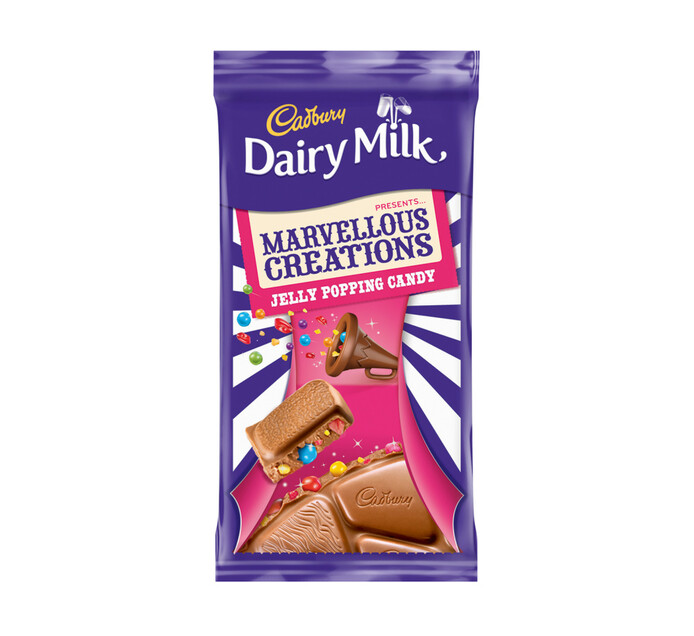 Cadbury Marvelous Creations Jelly Popping Candy (12 x 160g)