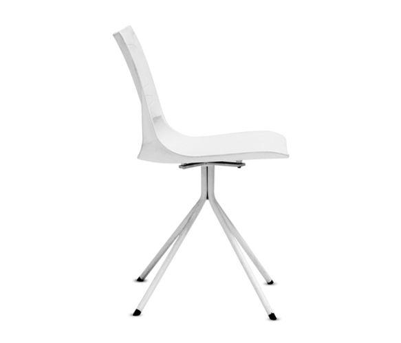 GOF Furniture - Animo Plastic Chair - White