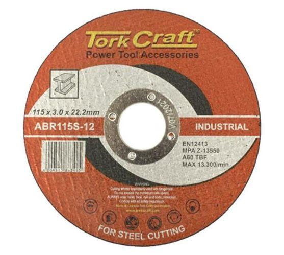 CUTTING DISC INDUSTRIAL METAL 115 x 3.0 x 22.2 MM
