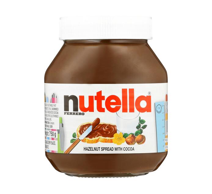 Nutella Spread Chocolate (750g)